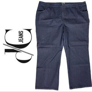 D/C Jeans Plus Size Dark Wash Jean Zipper Button